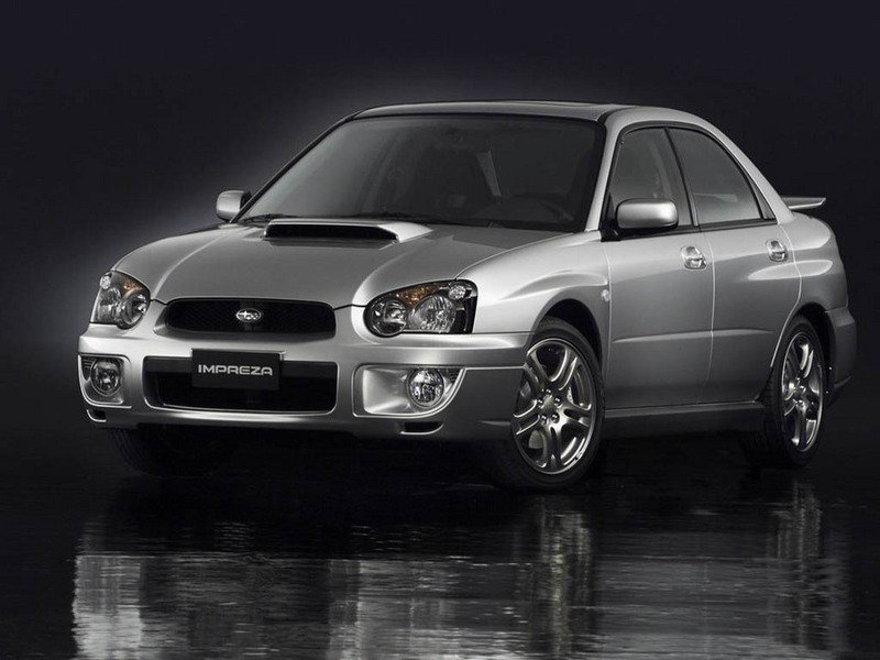 2004 Subaru Impreza WRX wallpaper image