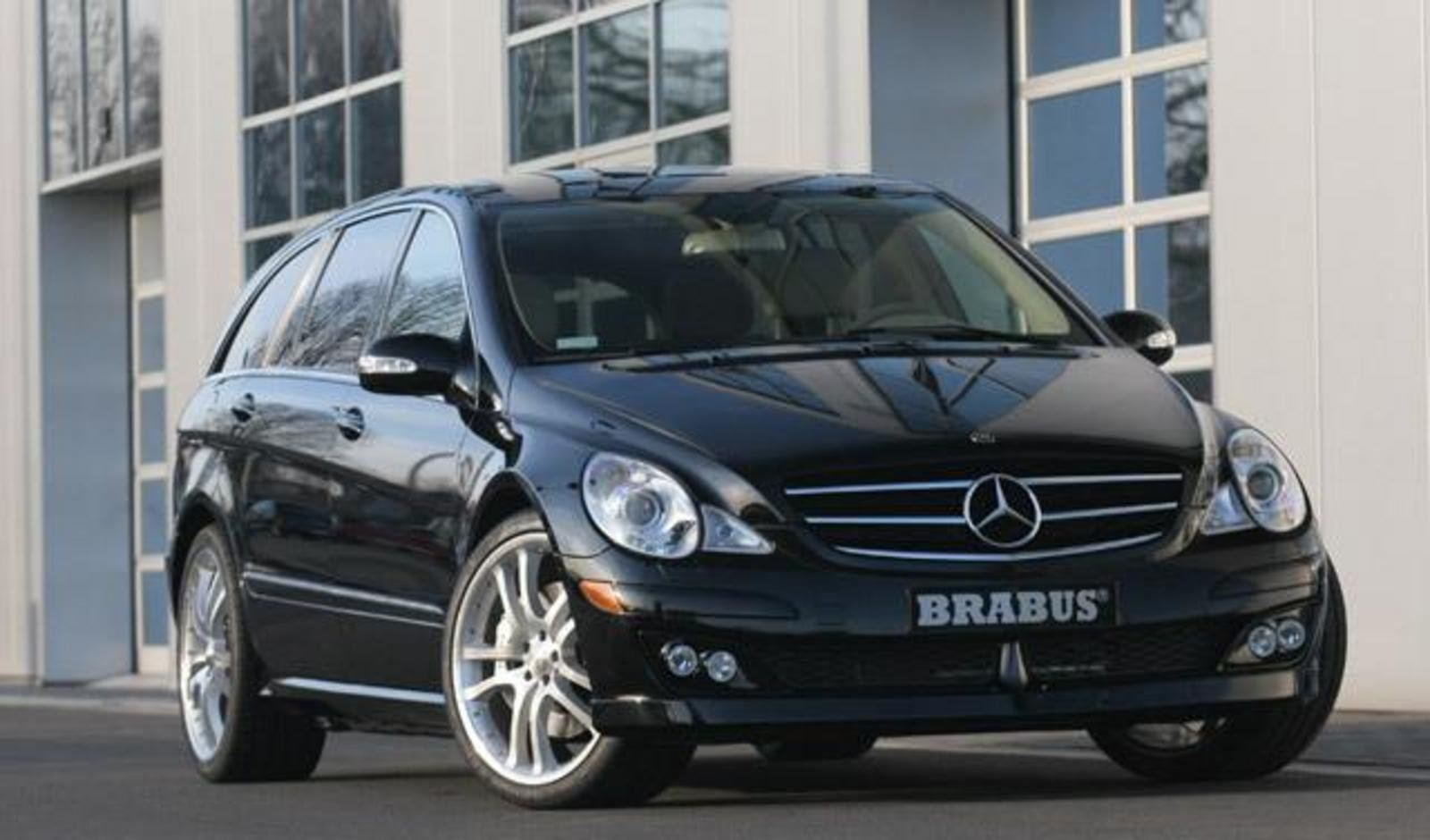 2006 Mercedes RClass By Brabus Review  Top Speed