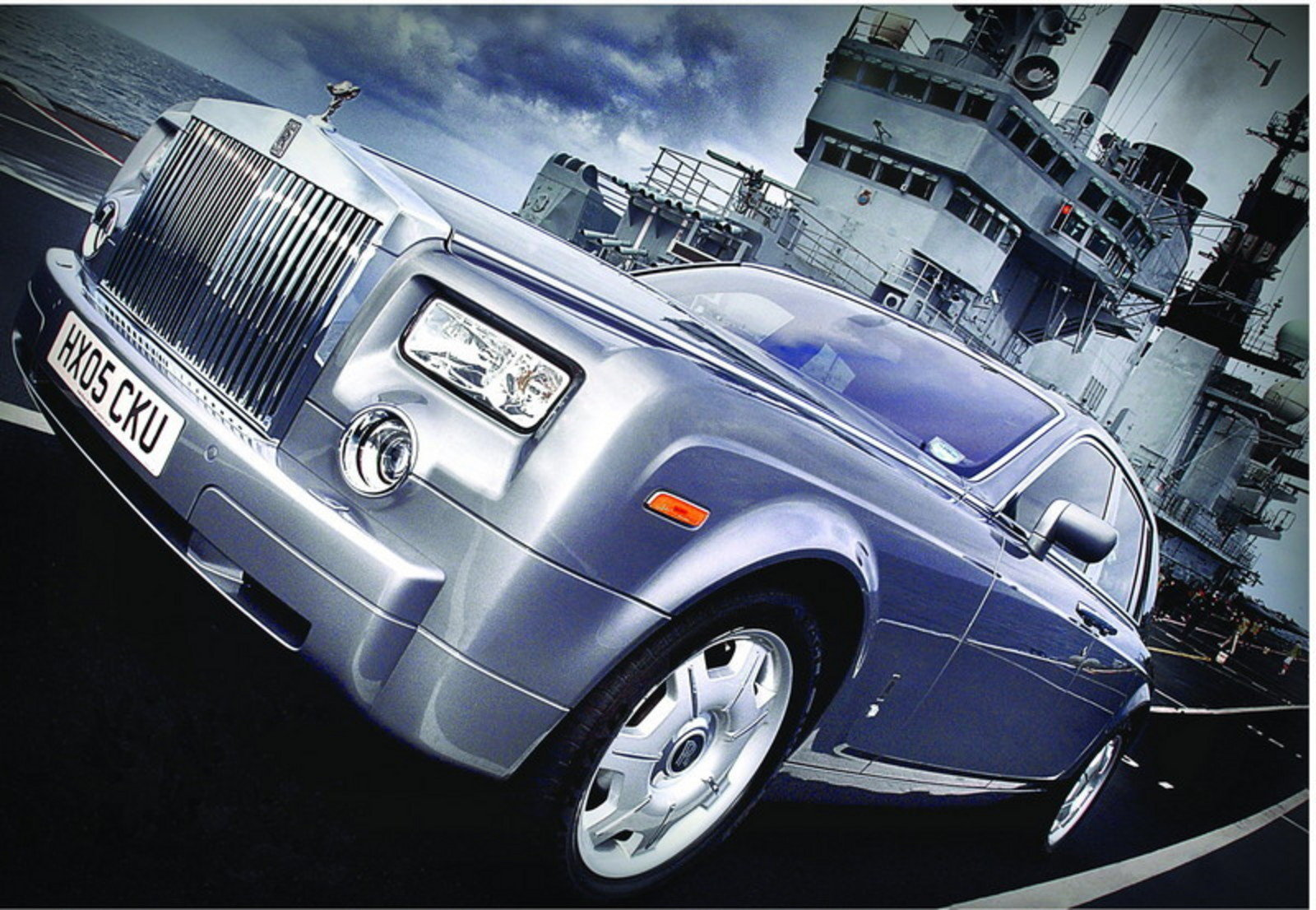2006 RollsRoyce Royal Navy Flagship Review  Top Speed