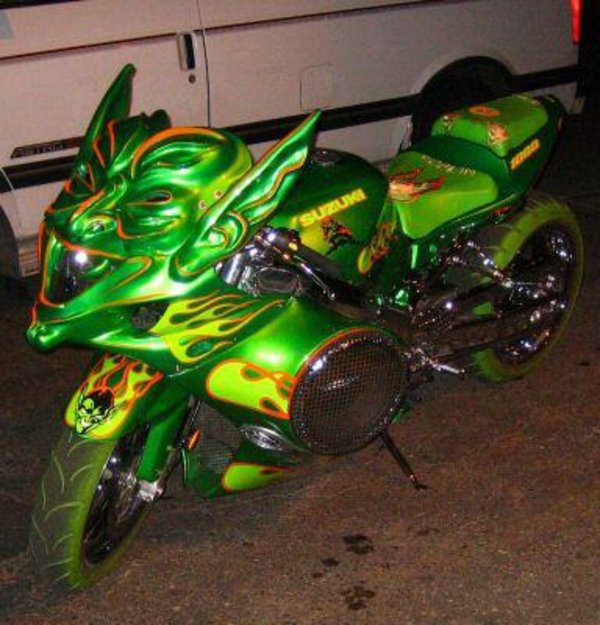 The Green Goblin Motorcycle For Those Who Want A Goblin