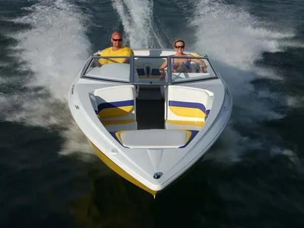 2007 Baja 202 Islander  boat review  Top Speed