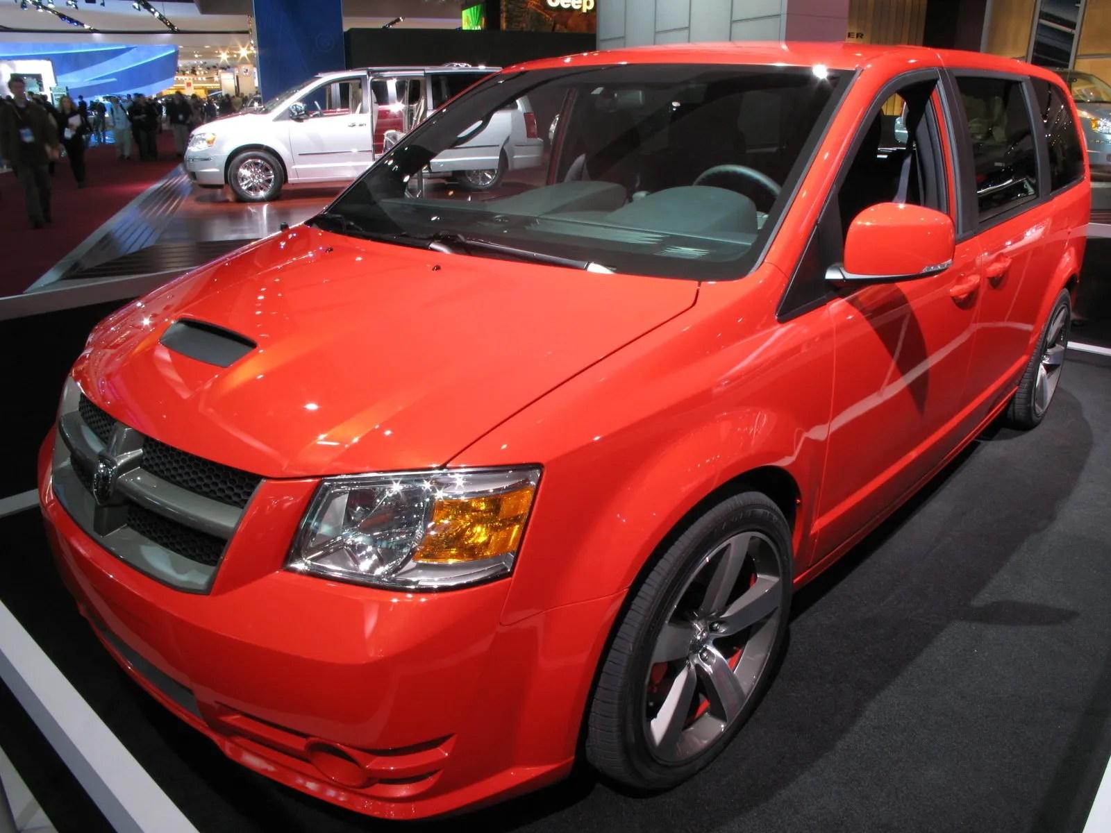 2008 Dodge Caravan R T Concept Review Top Speed