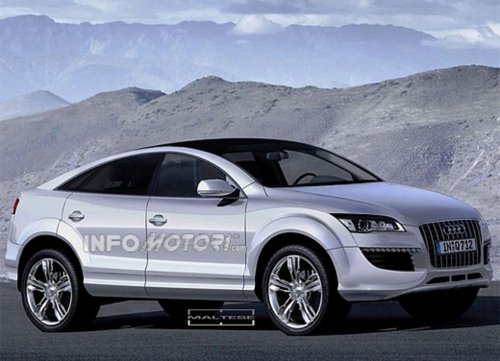 small resolution of audi q6 targets the new bmw x6