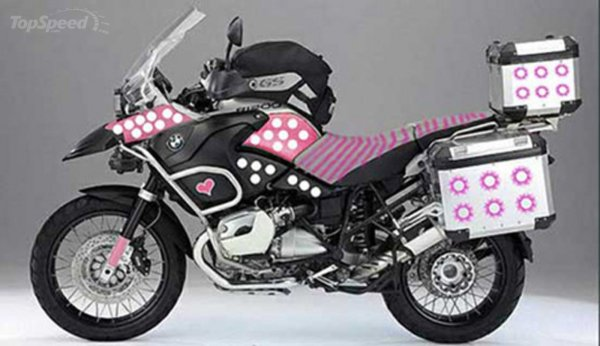 Bmw R1200gs Barbie Edition. Wtf - Top Speed