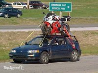 PICS of your bike on your vehicle - Expedition Portal