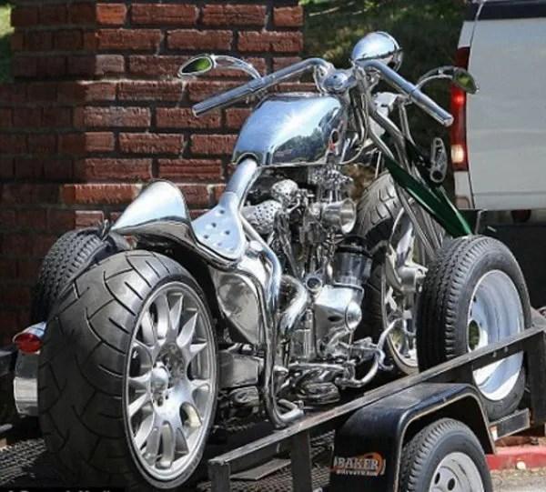 Cafe Racer Girl Wallpaper Brad Pitt S Latest Custom Motorcycle News Top Speed