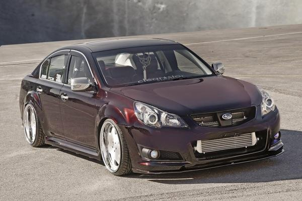 2009 Subaru Legacy 25GT VIP Concept Car Review Top Speed