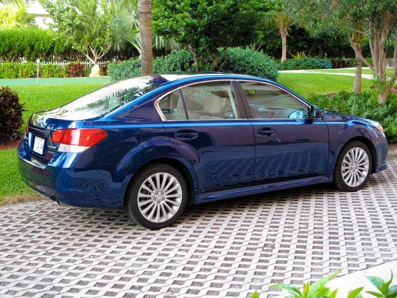 2010 Subaru Legacy 2.5 GT   Top Speed