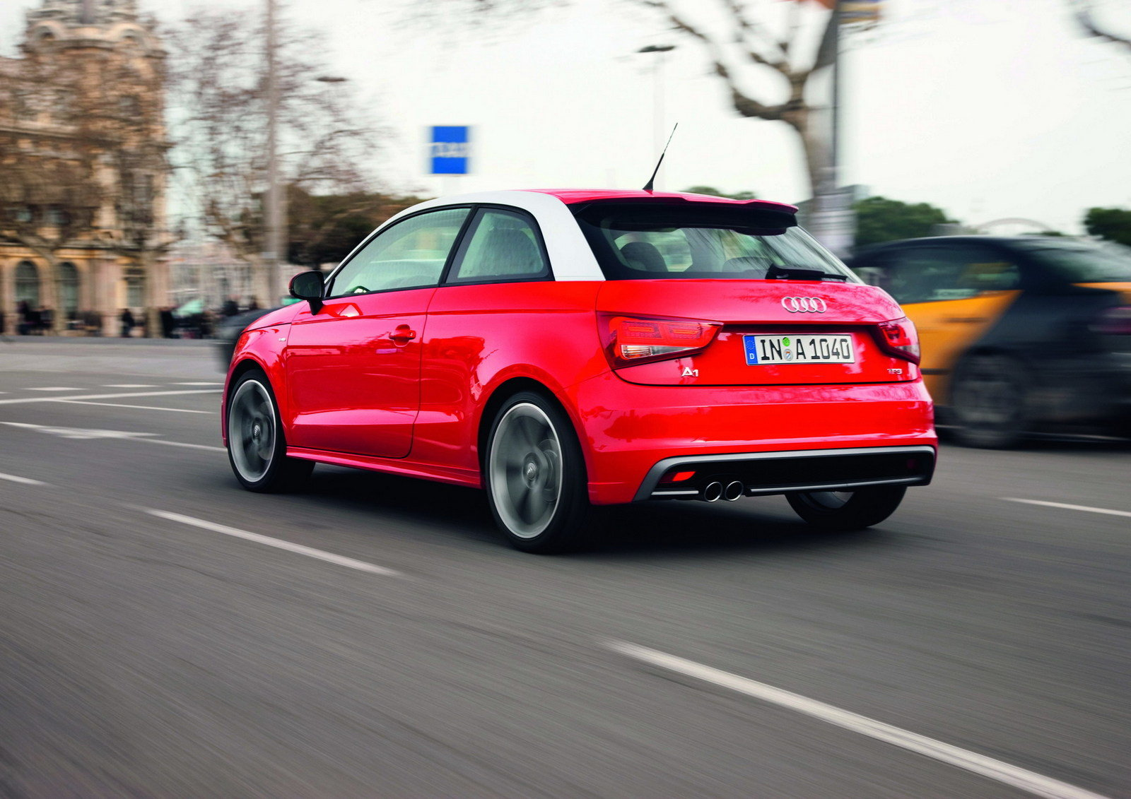 2011 Audi A1 S-Line - Picture 351501   car review @ Top Speed