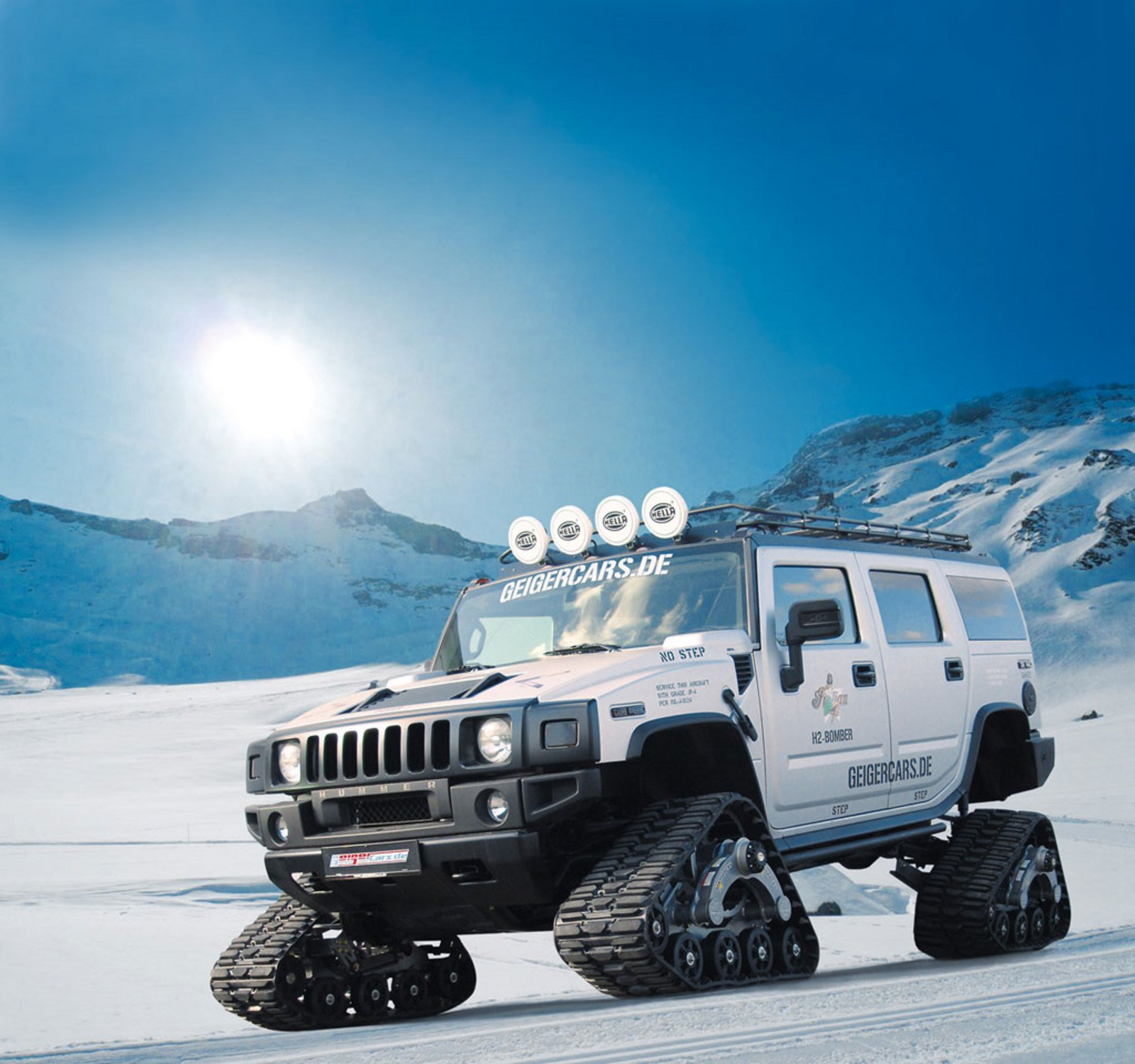 Hummer H2 Bomber By Geiger Cars Review Top Speed