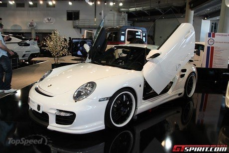 Porsche 997 Turbo by Anna Bizer