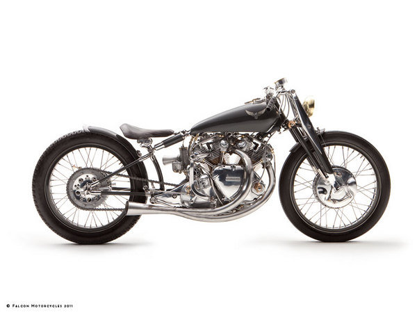 Falcon Motorcycles @ Top Speed