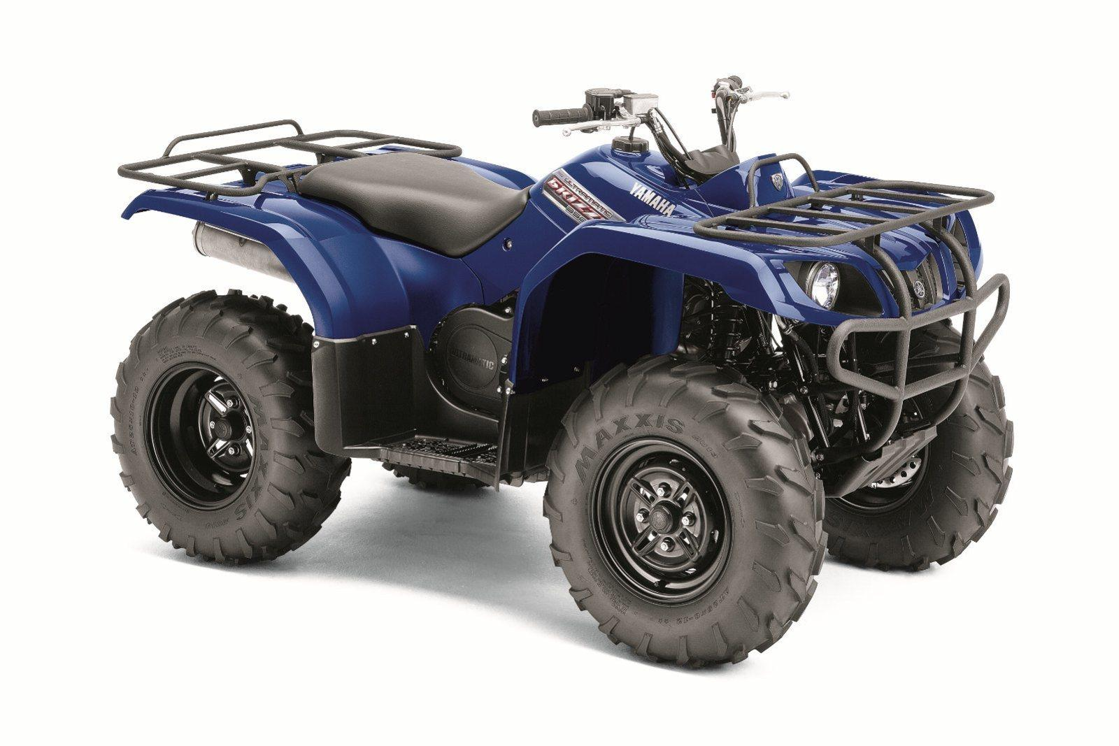 Yamaha Grizzly 350 Auto 4x4 Review