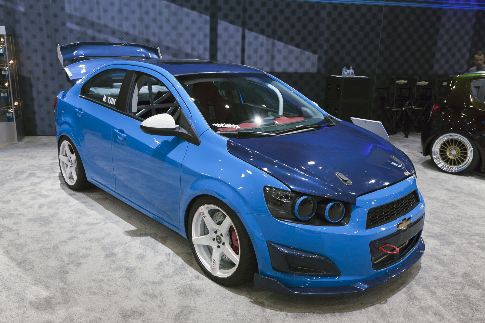 2012 Chevrolet Sonic Tjin Edition Top Speed