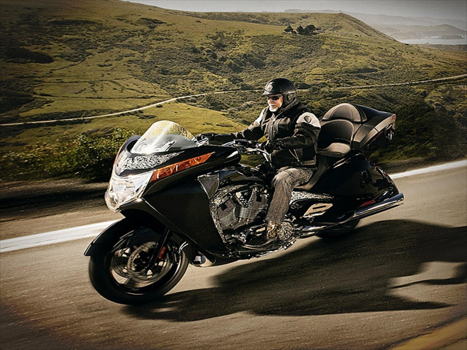 2012 Victory Arlen Ness Vision  Top Speed