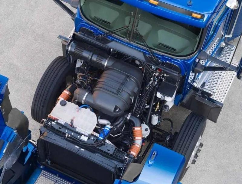 2011 Kenworth T800  Top Speed