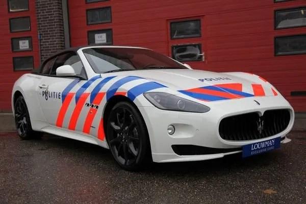 Dubai Police Car Wallpapers 2012 Maserati Grancabrio Politie Edition Review Top Speed