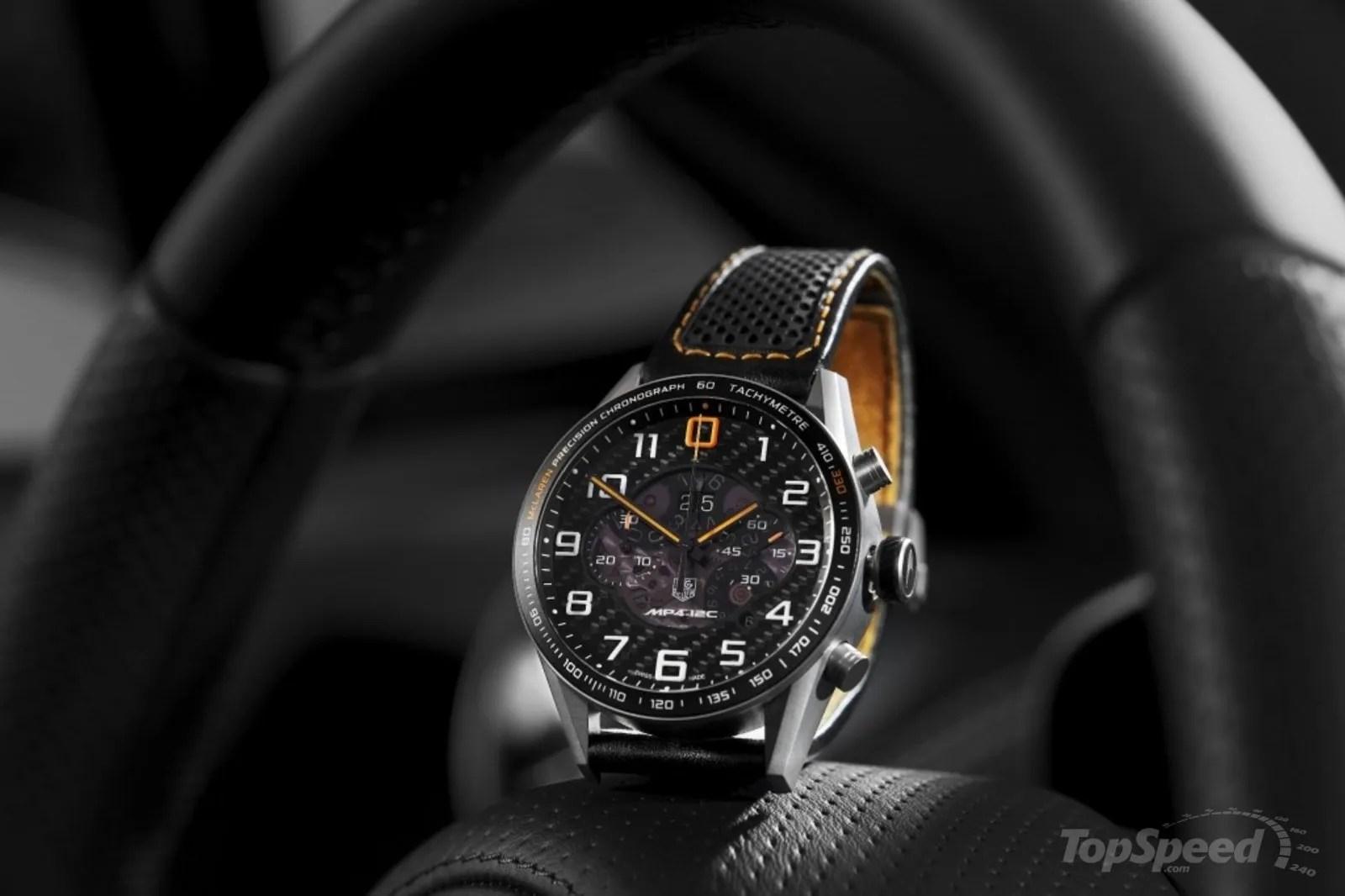 Tag Heuer Carrera MP4-12C Chronograph News