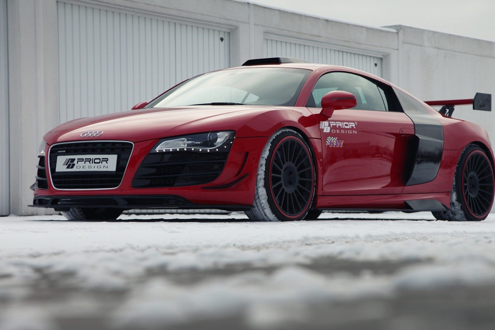 Set Wallpaper Cars 2013 Audi R8 Pd Gt650 By Prior Design Top Speed
