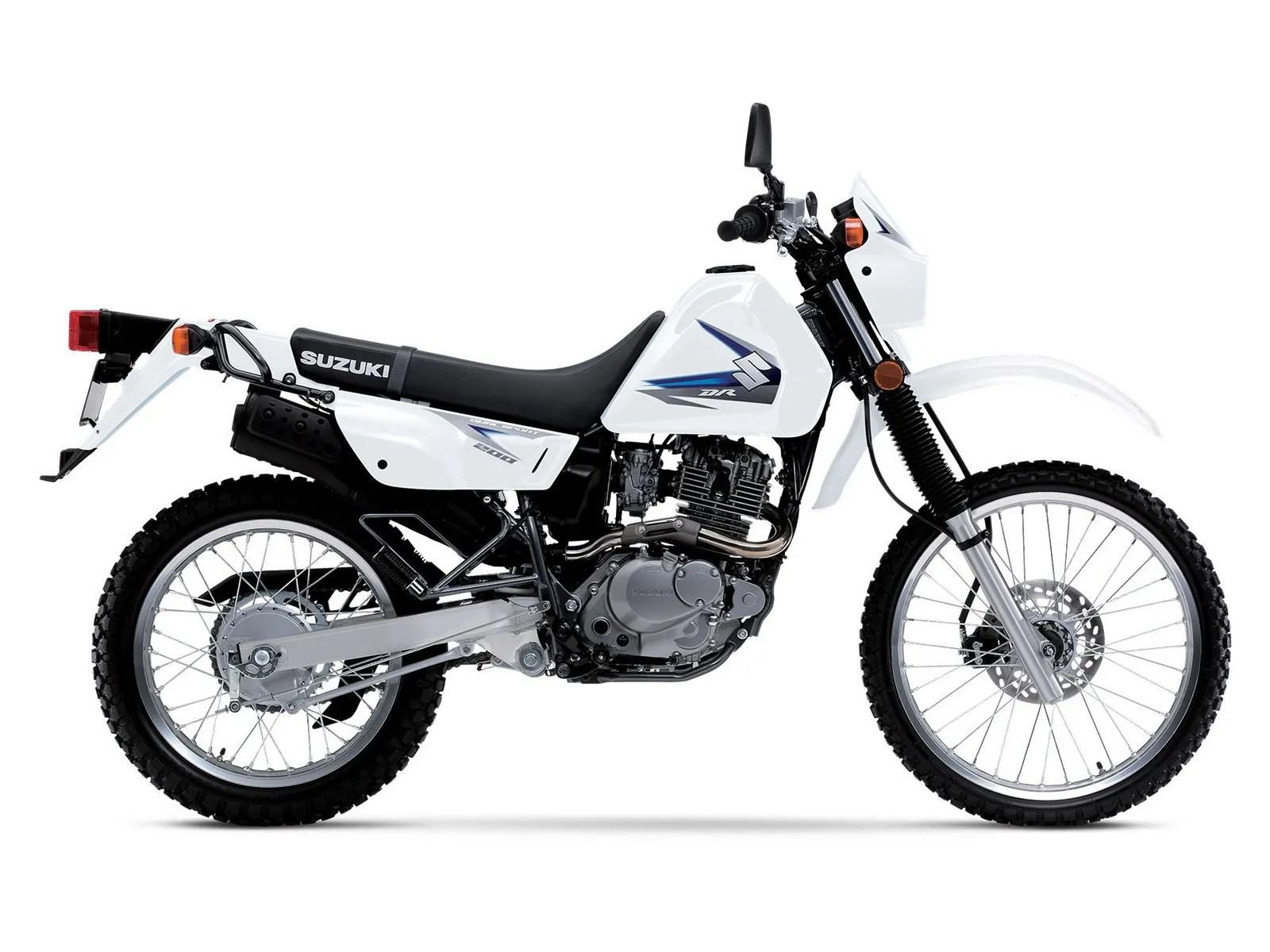 2013 Suzuki DR200SE  Top Speed