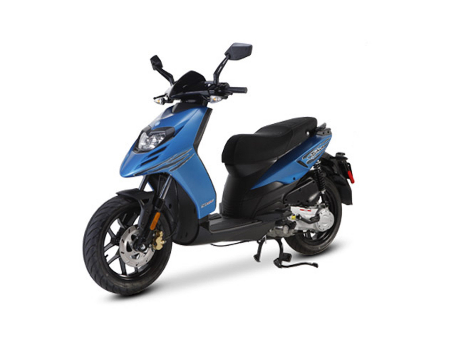 2014 Piaggio Typhoon 50 Review  Top Speed
