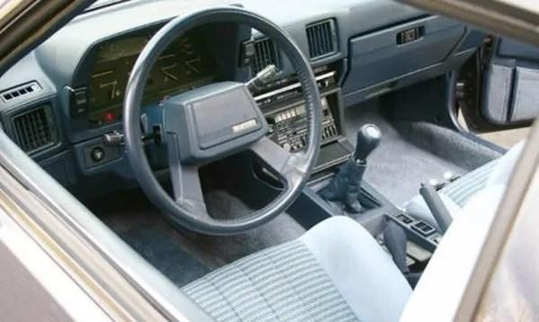 Interior 1984 Toyota Supra