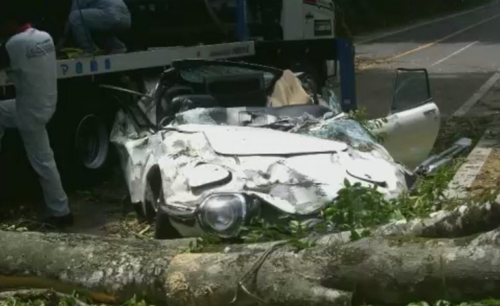 Wallpaper Cars 2014 Rare Toyota 2000gt Destroyed By A Tree In Japan News Top