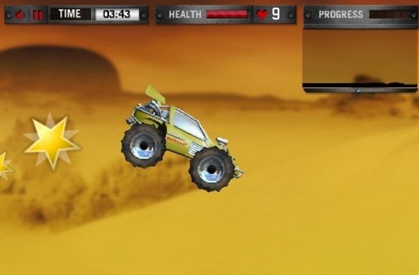 Dune Buggy Game