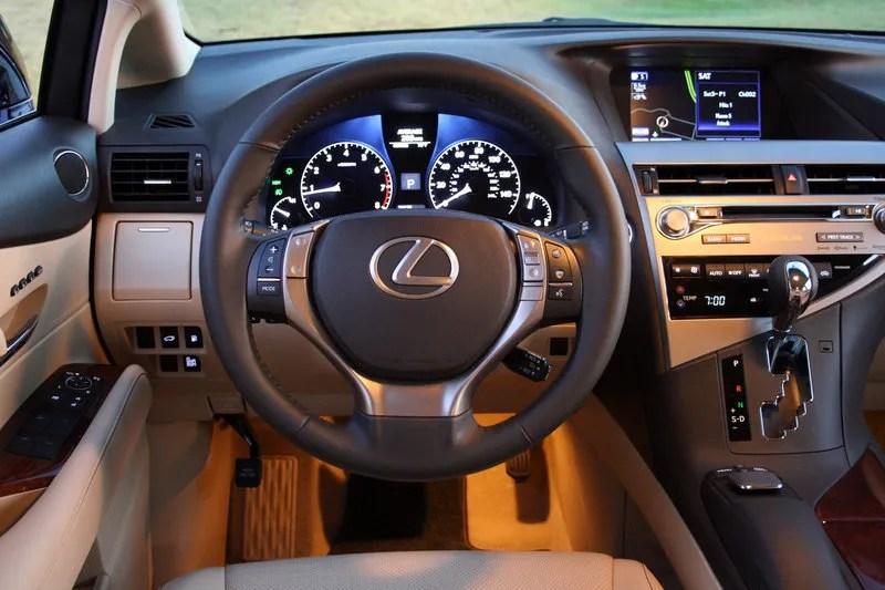 2014 Lexus RX 350 Driven Top Speed
