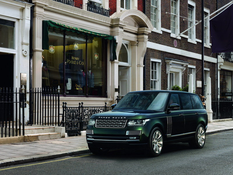 2015 Land Rover Range Rover SVO Holland & Holland Special Edition picture - doc576535