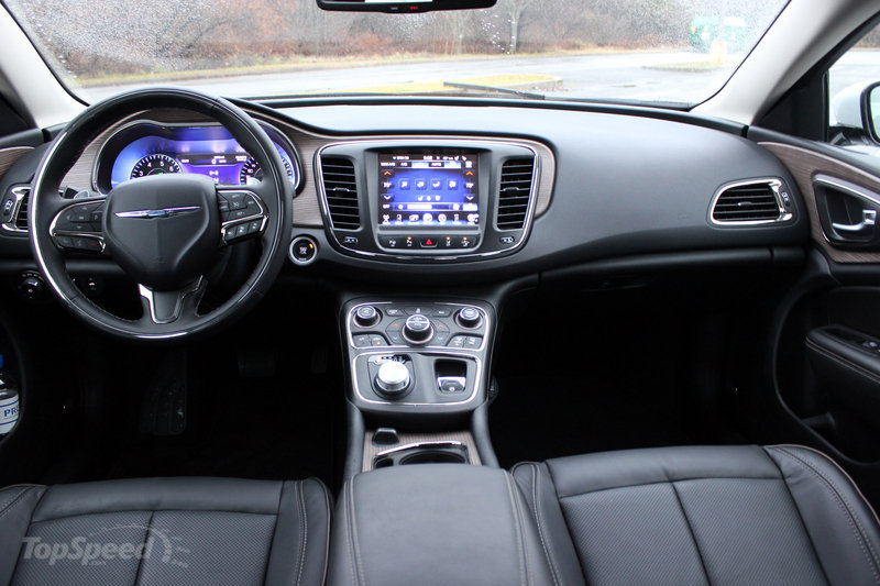 2015 Chrysler 200C  Driven  Top Speed