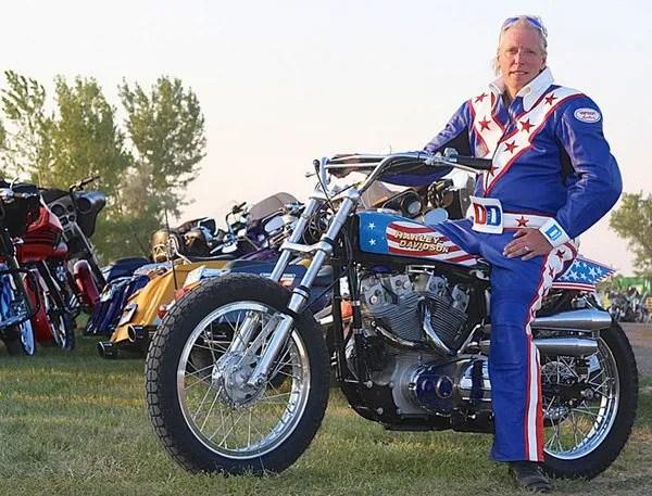 Stuntman Car Wallpaper Evel Knievel S Harley Davidson To Fly Again At Sturgis