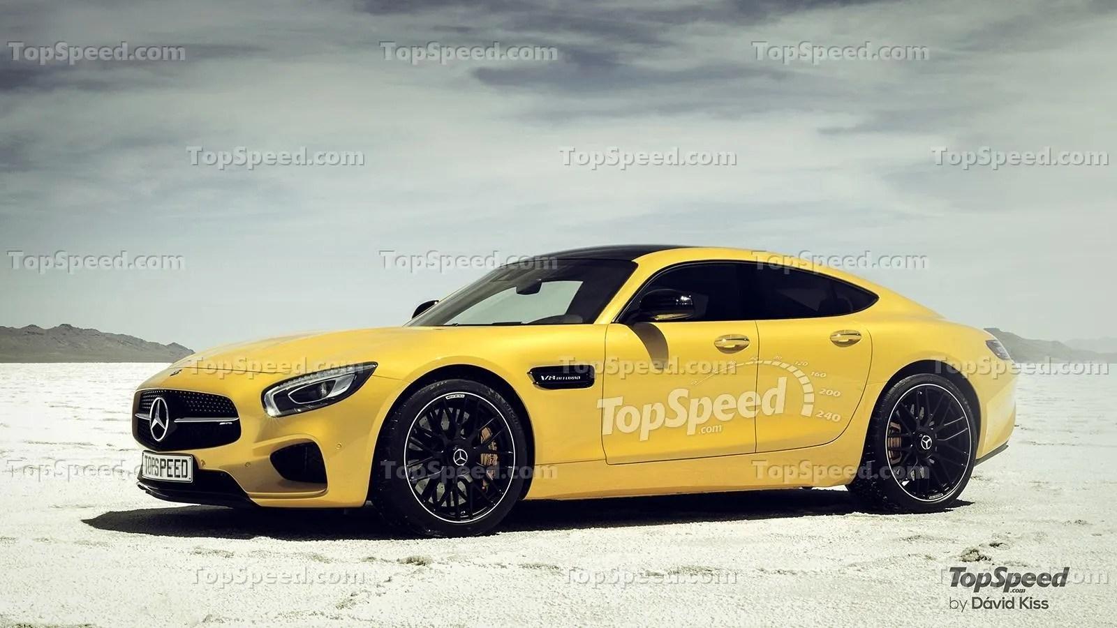 Porsche Should Be Worried About Mercedes AMGs GT4 Concept