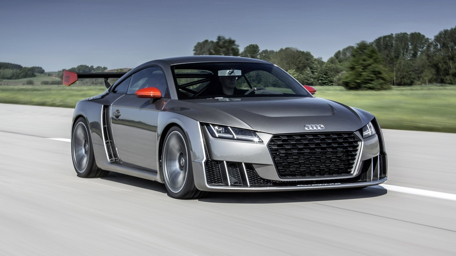 Exotic Car Wallpaper Pack 2015 Audi Tt Clubsport Turbo Technology Concept Picture