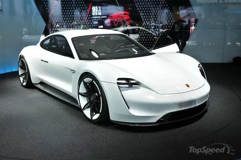 2020 Porsche Taycan Top Speed