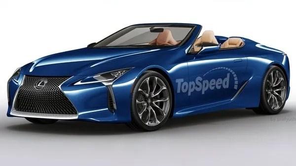2018 Lexus LC Convertible Review Top Speed
