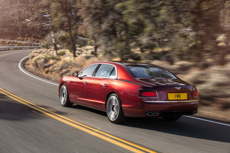 2017 Bentley Flying Spur V8 S Top Speed