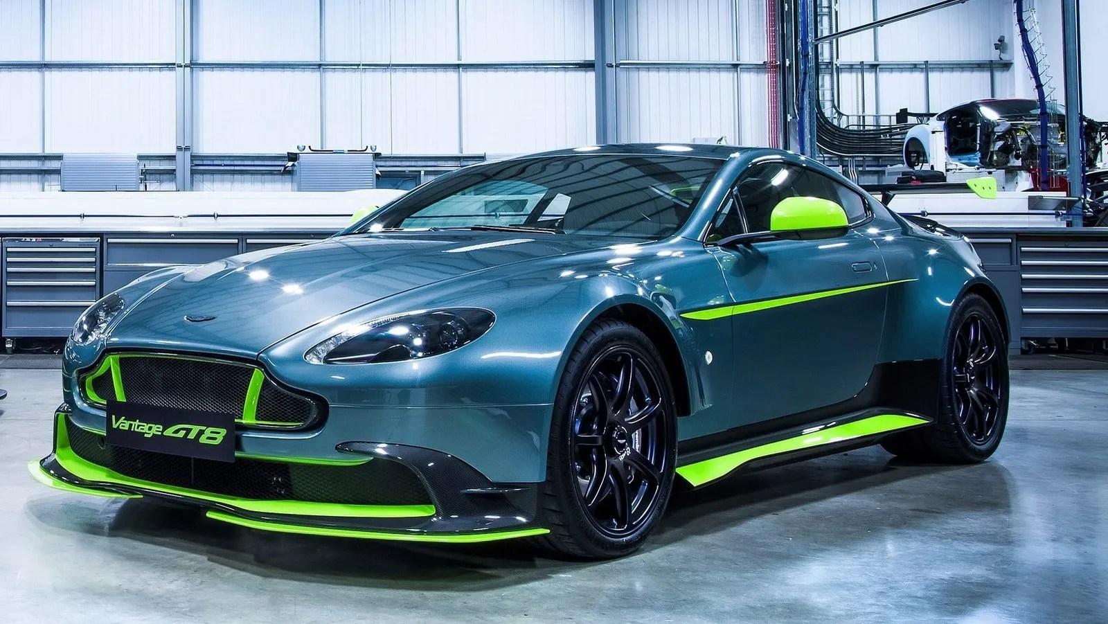 2017 Aston Martin Vantage Gt8 Review  Top Speed