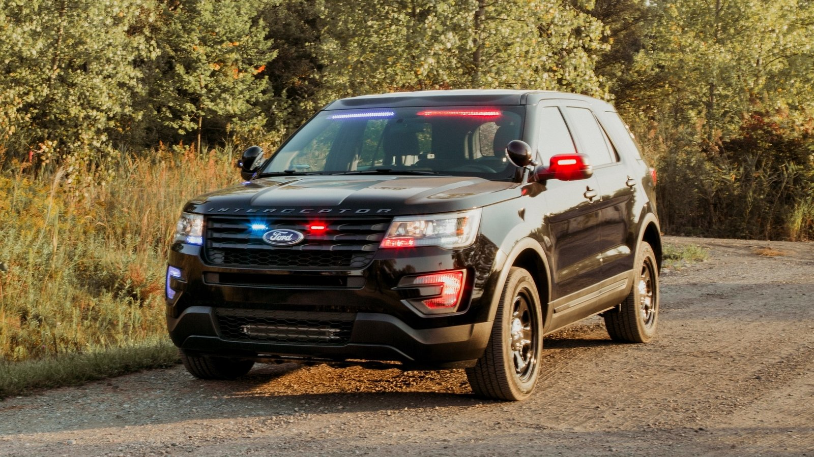 Ford Police Interceptor Utility Gets New Rear Spoiler