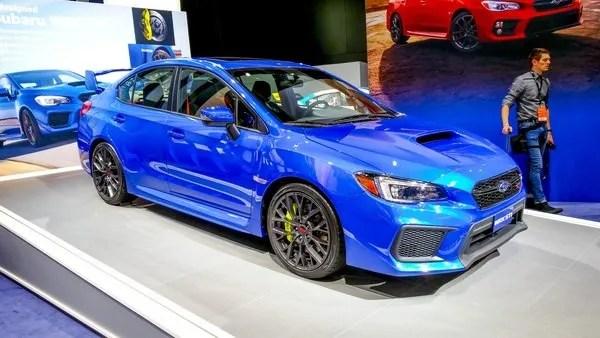 2018 Subaru Wrx Sti  Car Review @ Top Speed