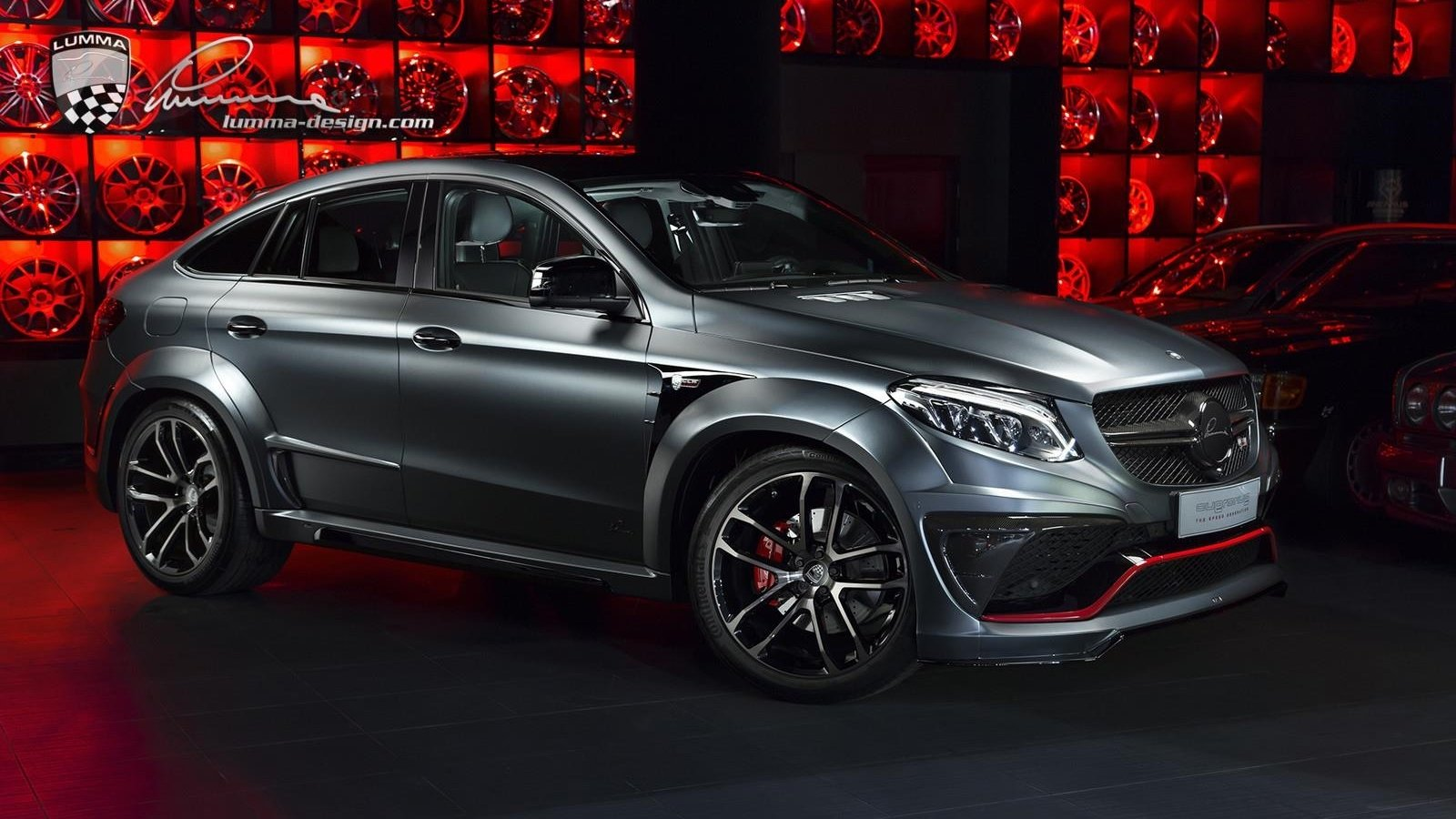 2017 Mercedes GLE Coupe CLR G800 By Lumma Design Top Speed