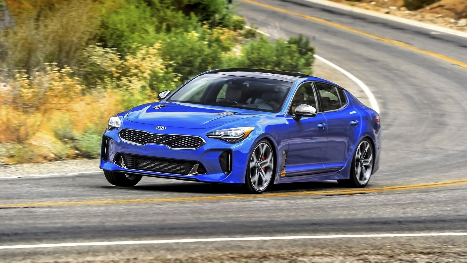 2018 Kia Stinger Pictures Photos Wallpapers And Videos