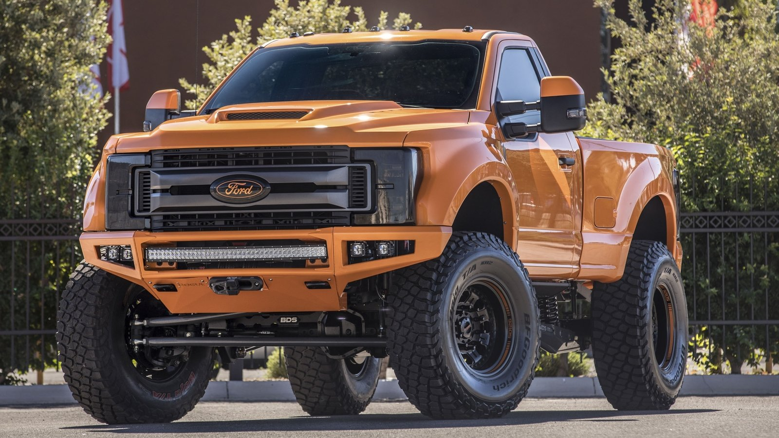 Car Tire Wallpaper Jdm 2017 Ford F 250 Super Duty Xlt By Bds Suspension Top Speed