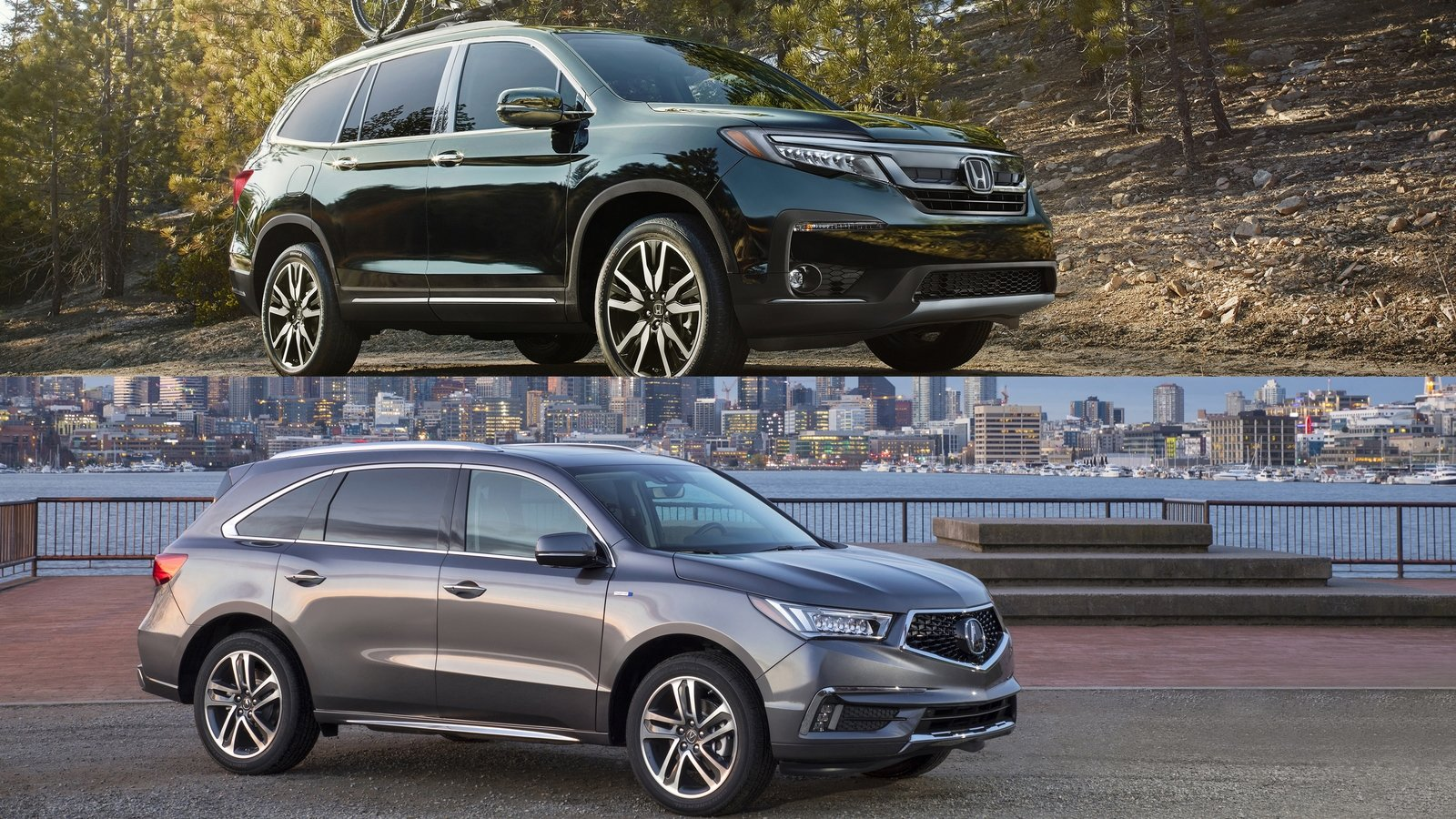 Suv With Captain Chairs Buyers Guide 2018 Acura Mdx Vs 2018 Honda Pilot Top Speed