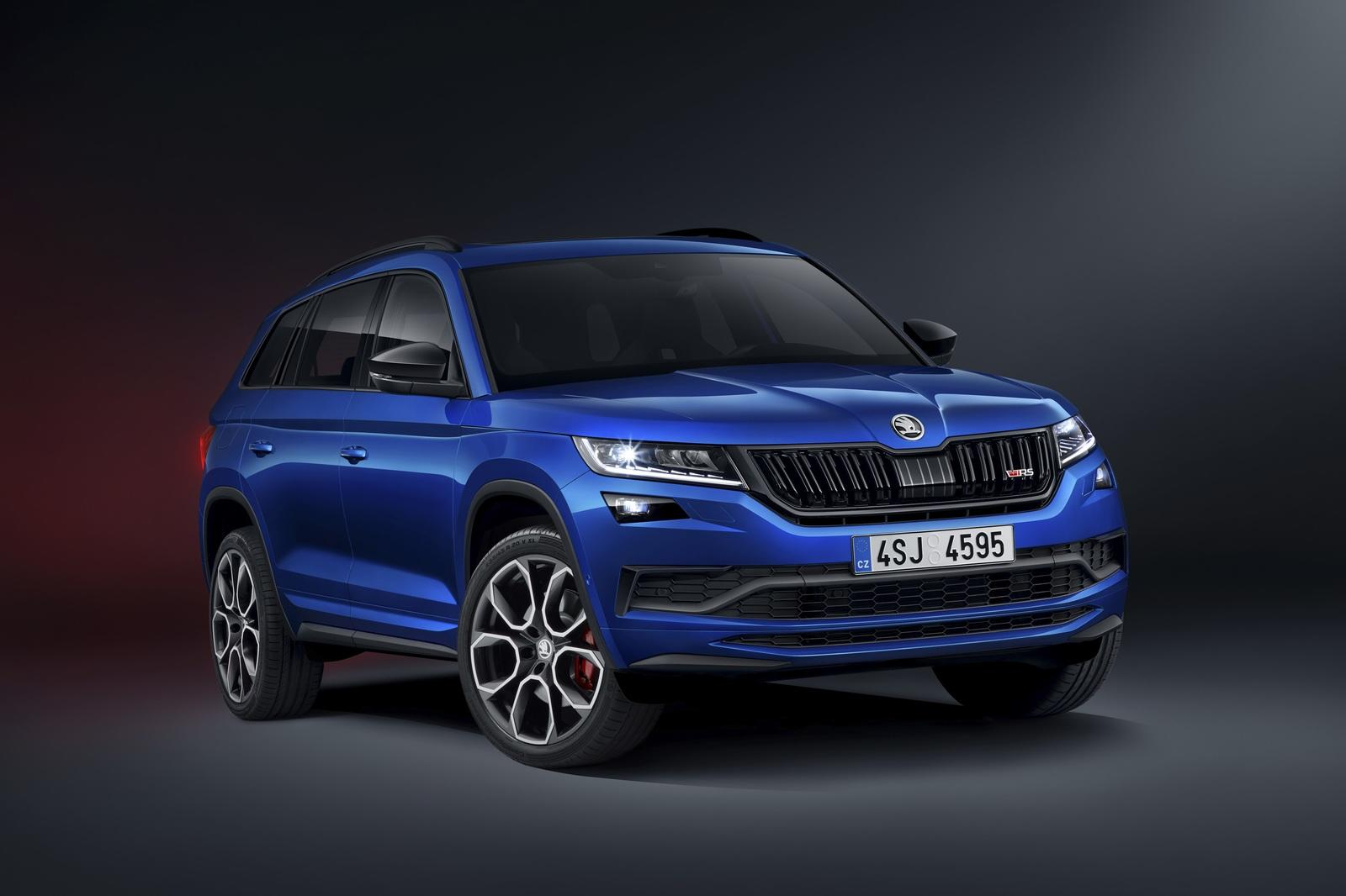 2019 Skoda Kodiaq Rs Pictures Photos Wallpapers Top Speed