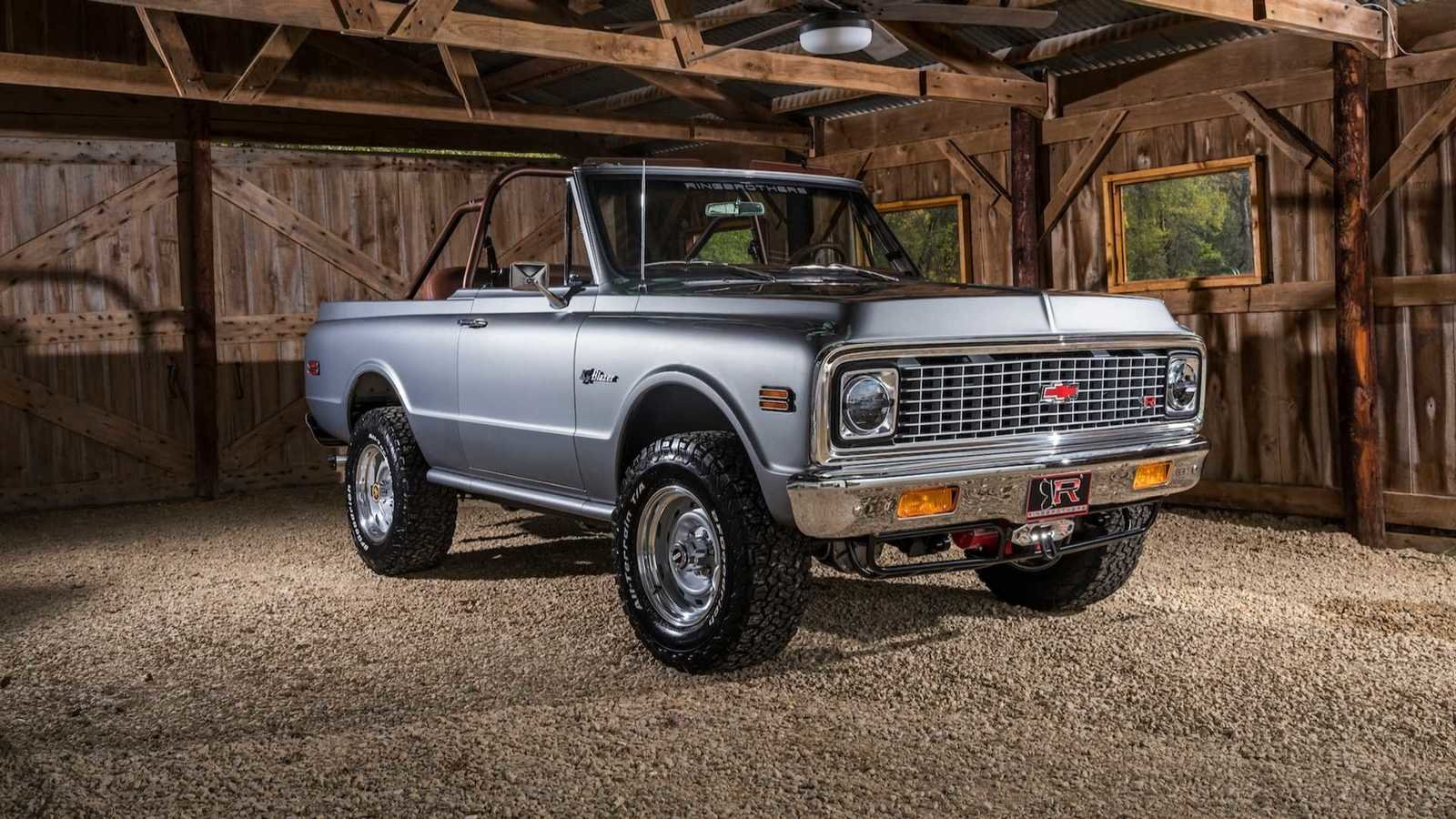 hight resolution of 2018 k5 chevy blazer restomod by ringbrothers pictures photos wallpapers top speed
