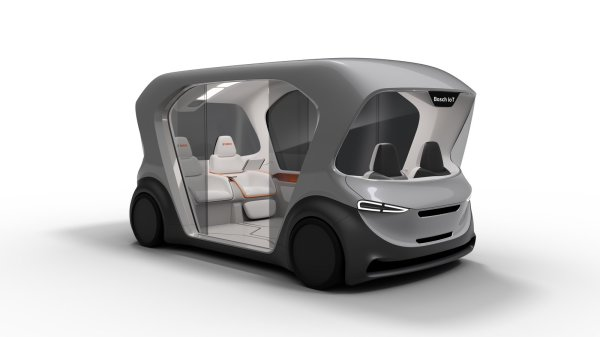 Funky Little Electric People Mover Bosch