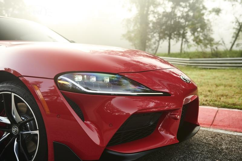 Cars Headlights Wallpaper The 2020 Toyota Supra Has So Many Fake Vents That It Hurts