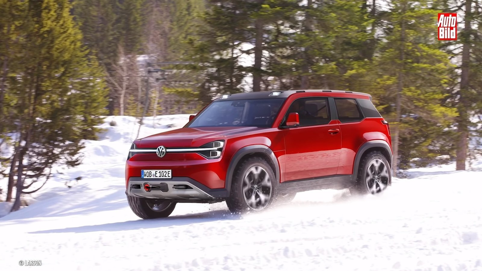 Volkswagens Cooking Up A Challenger For The Land Rover