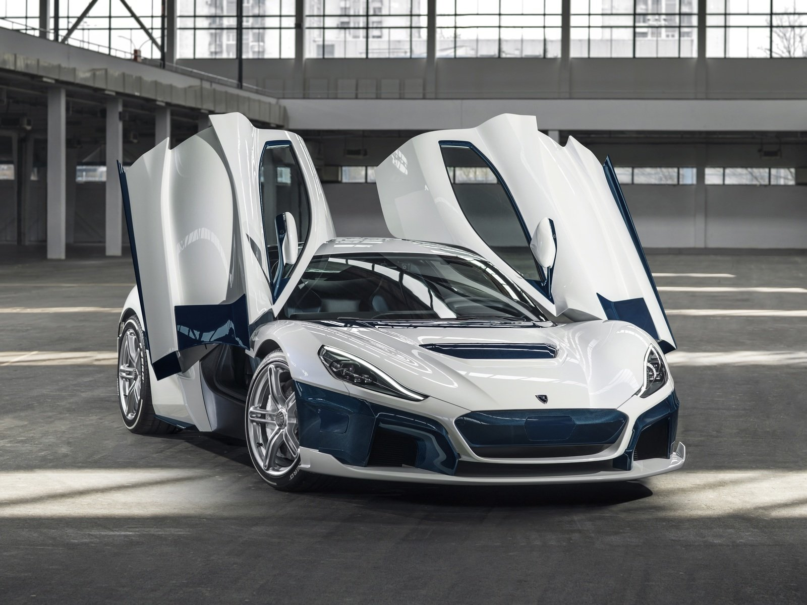 The Rimac C Two Shows Off New Livery At The 2019 Geneva